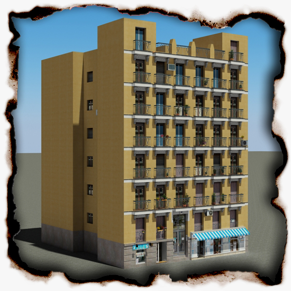 building 94 3d model 3ds max fbx texture obj 157661