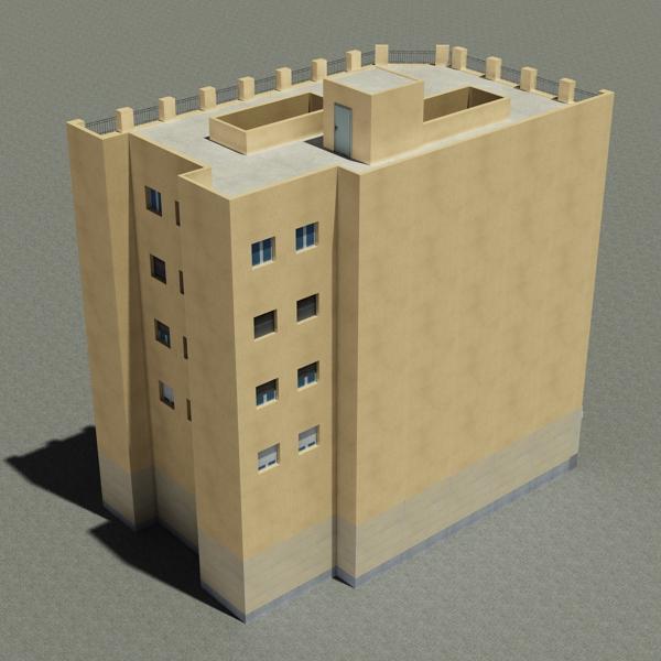 building 95 3d model 3ds max fbx texture obj 157679