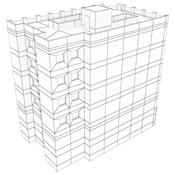 building 95 3d model 3ds max fbx texture obj 157691