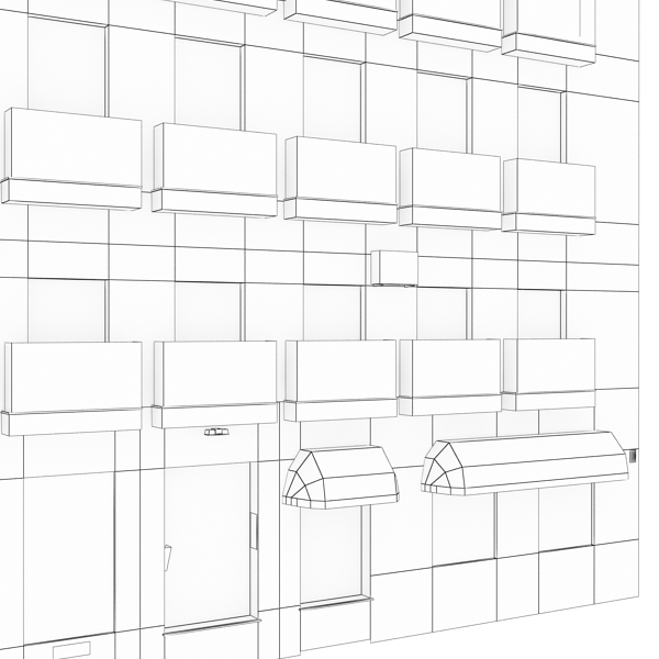 building 95 3d model 3ds max fbx texture obj 157692