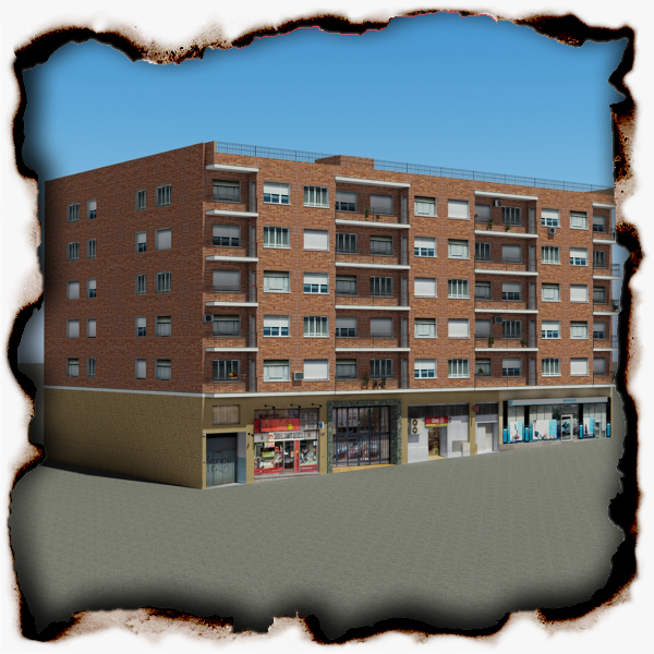 building 97 3d model 3ds max fbx texture obj 157717
