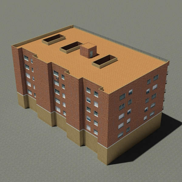 building 97 3d model 3ds max fbx texture obj 157719