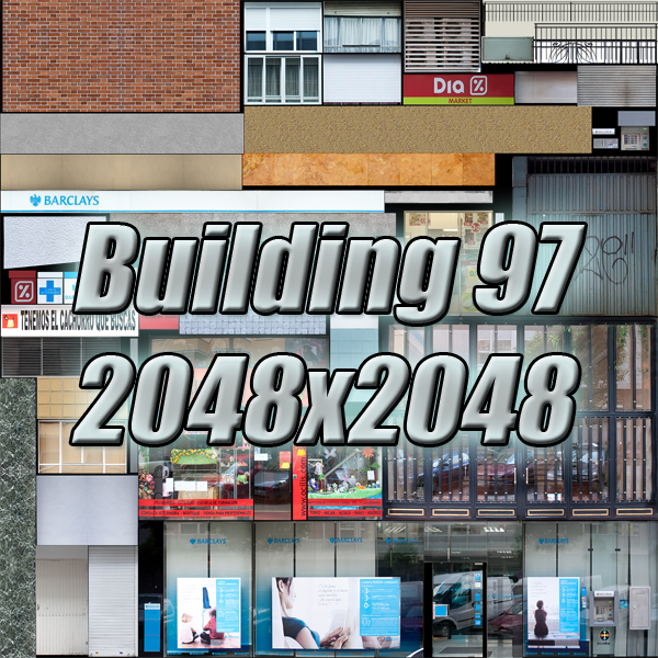 building 97 3d model 3ds max fbx texture obj 157730