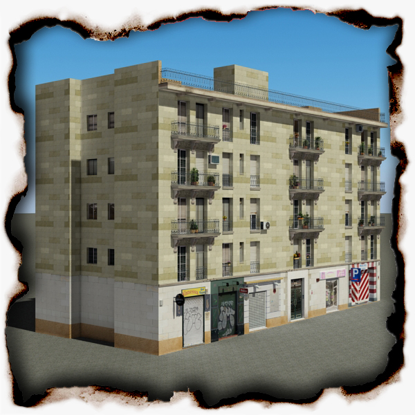 building 99 3d model 3ds max fbx texture obj 157803