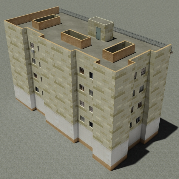 building 99 3d model 3ds max fbx texture obj 157805
