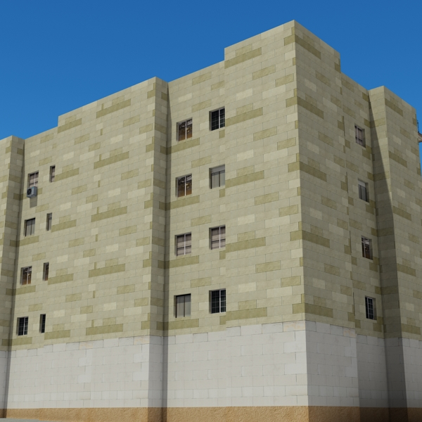 building 99 3d model 3ds max fbx texture obj 157814