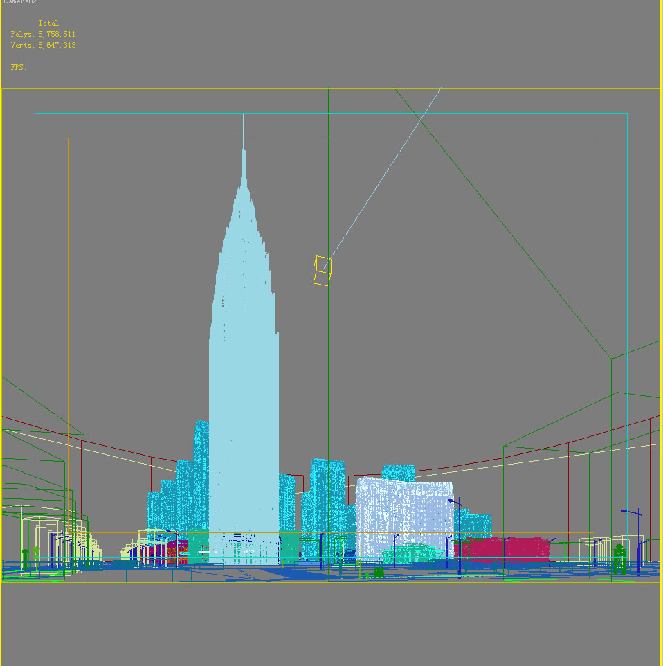 building cityscape 101 3d model max 165203