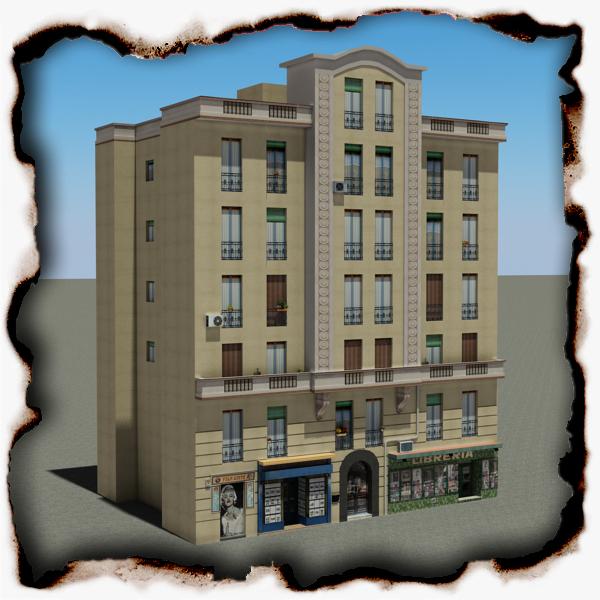 Building 101 ( 297KB jpg by VKModels )