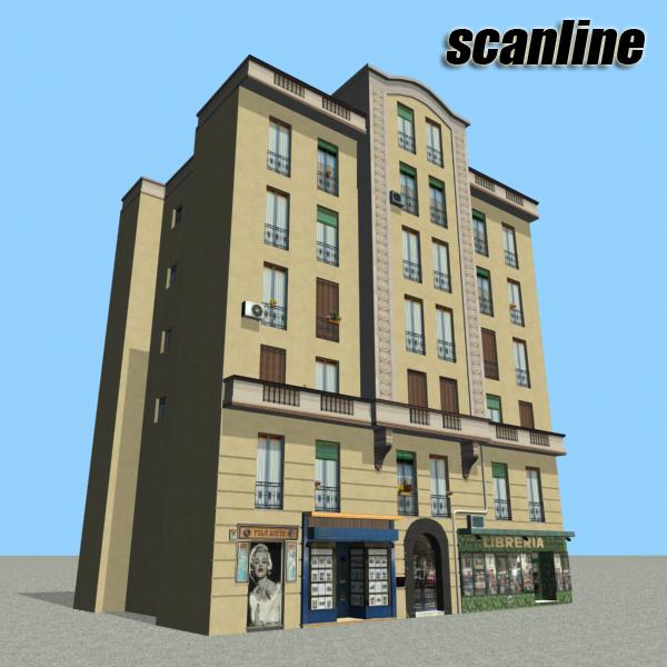 Building 101 ( 268.85KB jpg by VKModels )