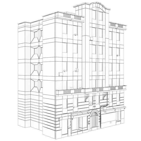 Building 101 ( 142.98KB jpg by VKModels )