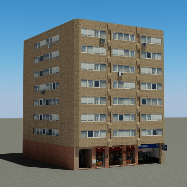 Building 90 ( 238KB jpg by VKModels )
