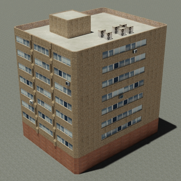 Building 90 ( 273.19KB jpg by VKModels )