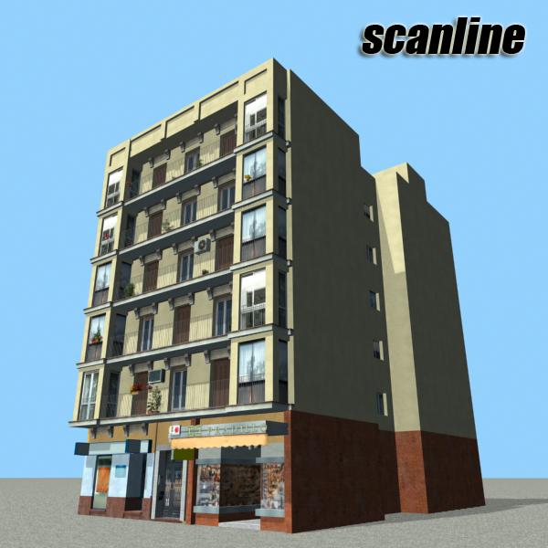 Building 91 ( 253.3KB jpg by VKModels )