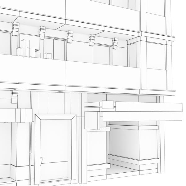 Building 91 ( 131.7KB jpg by VKModels )