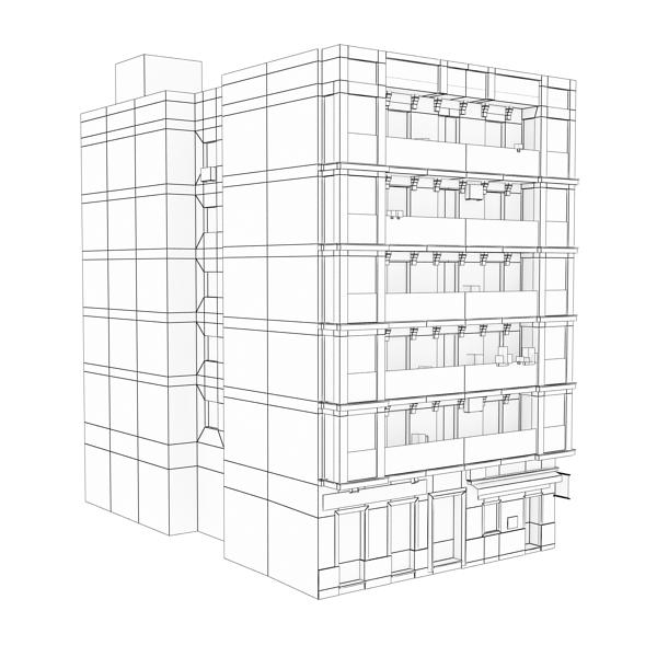 Building 92 ( 121.88KB jpg by VKModels )