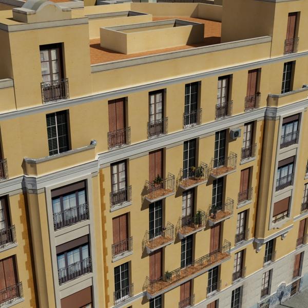 gradski blok 05 3d model 3ds max fbx texture obj 158069