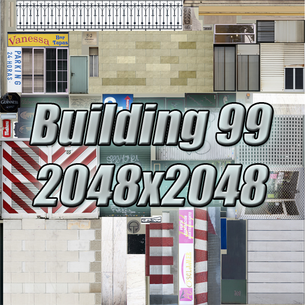 city block 05 3d model 3ds max fbx texture obj 158087