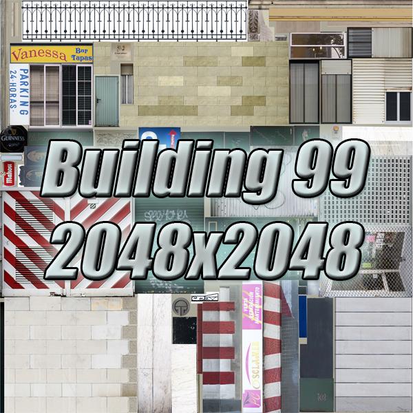 gradski blok 05 3d model 3ds max fbx texture obj 158087