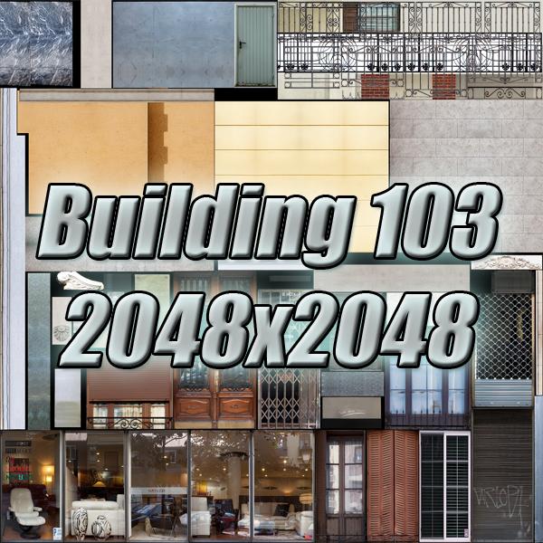 gradski blok 05 3d model 3ds max fbx texture obj 158088