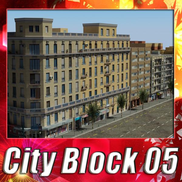 City Block 05 ( 397.6KB jpg by VKModels )
