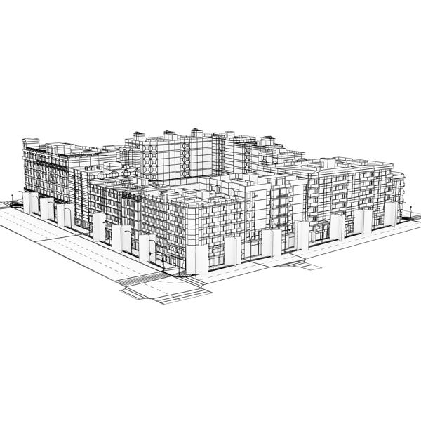 City Block 05 ( 98.36KB jpg by VKModels )