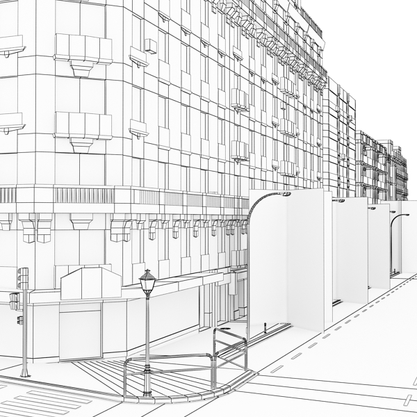 City Block 05 ( 198.55KB jpg by VKModels )