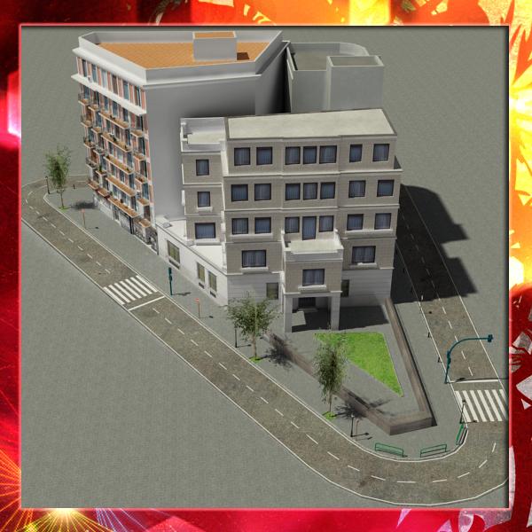 City 3d model obj free download   35+ Absolutely Free 3D Car Models