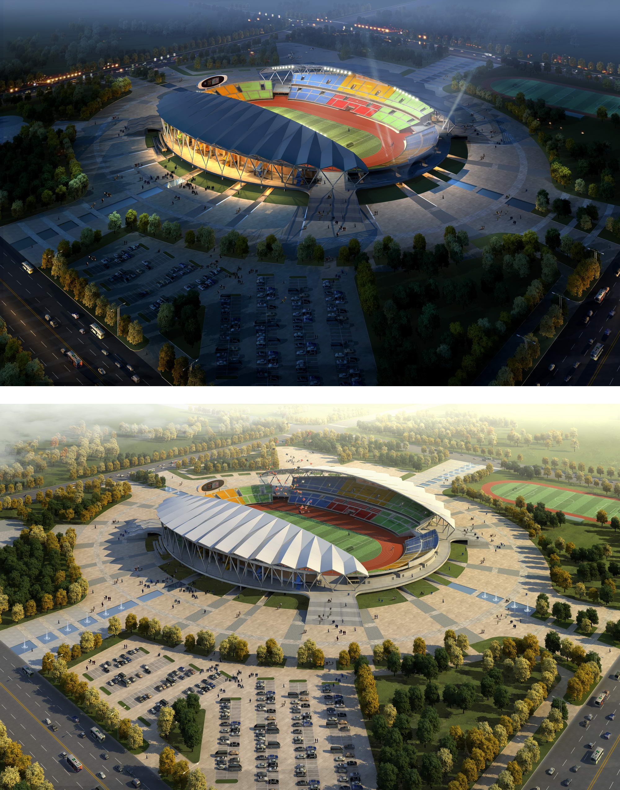 Grand Stadium 001 3d líkan 3ds max psd obj 98287