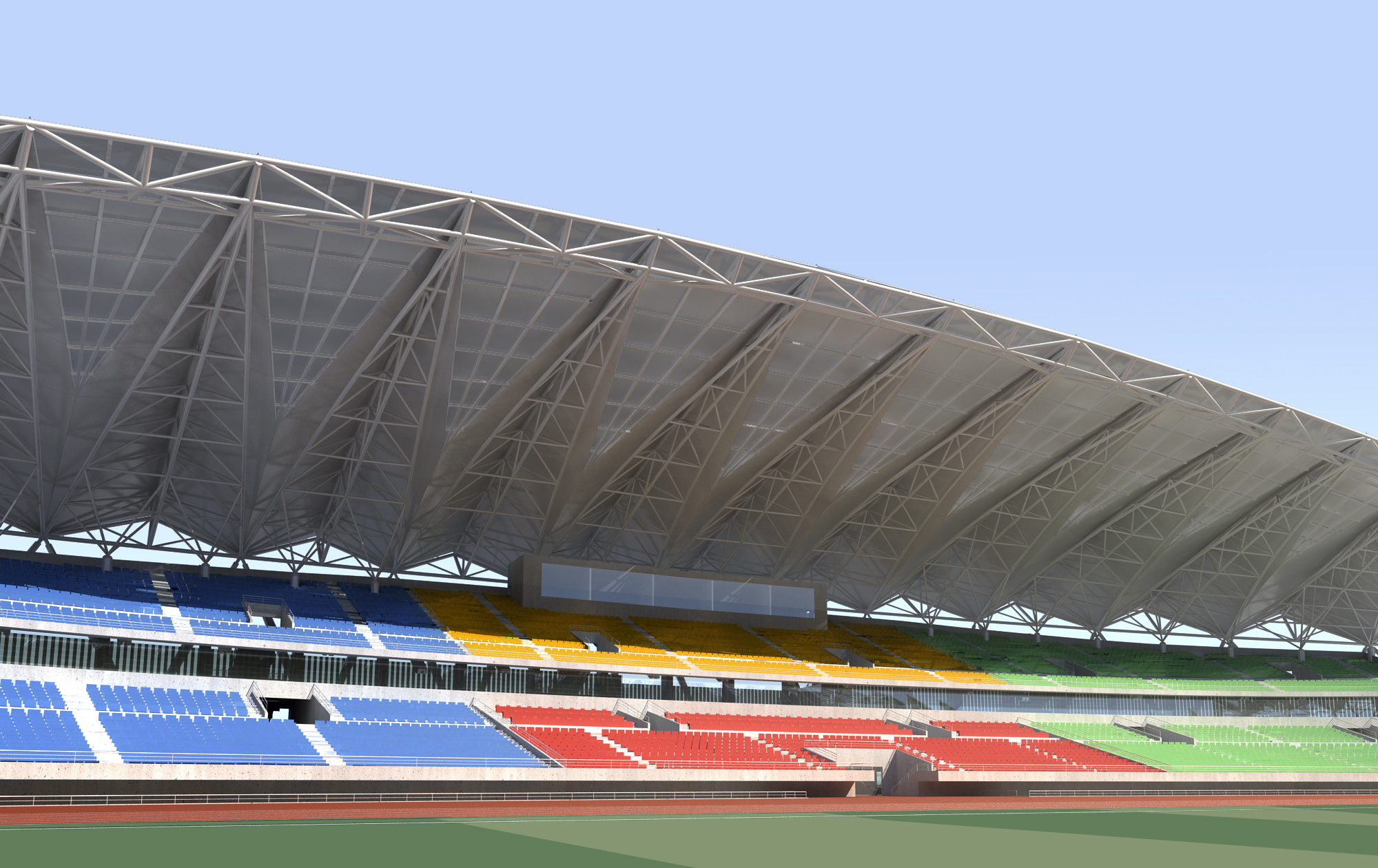 grand stadium 001 3d model 3ds max psd obj 98289