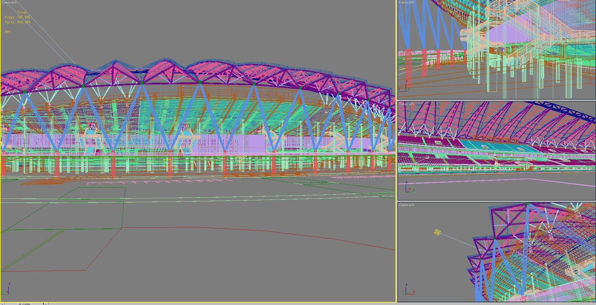 grand stadium 001 3d model 3ds max psd obj 98293
