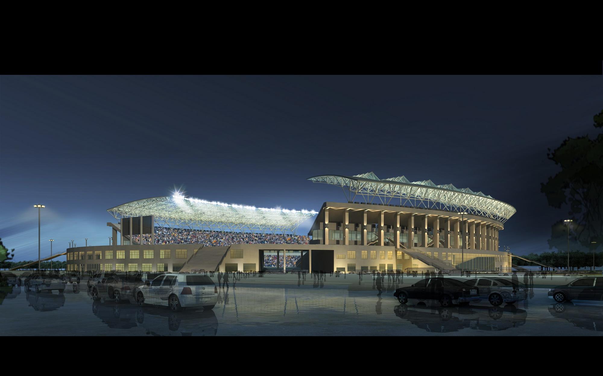 grand stadium 003 3d model max psd obj 98285
