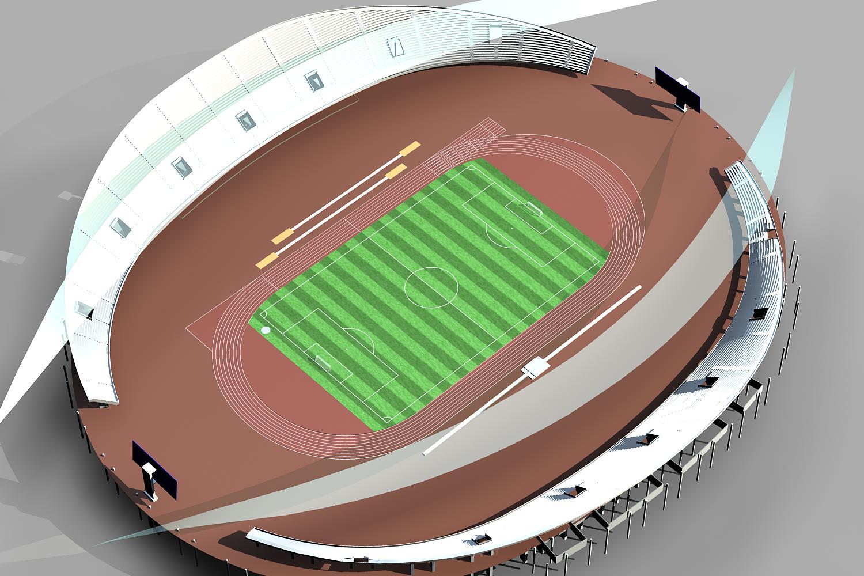 grand stadium 007 3d model 3ds max obj 98276