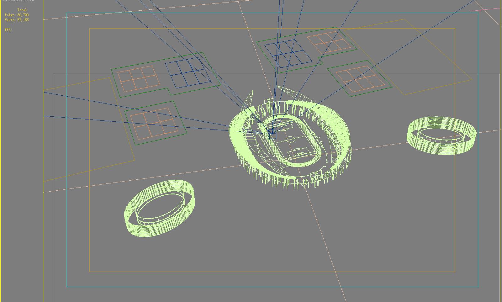 grand stadium 007 3d model 3ds max obj 98278