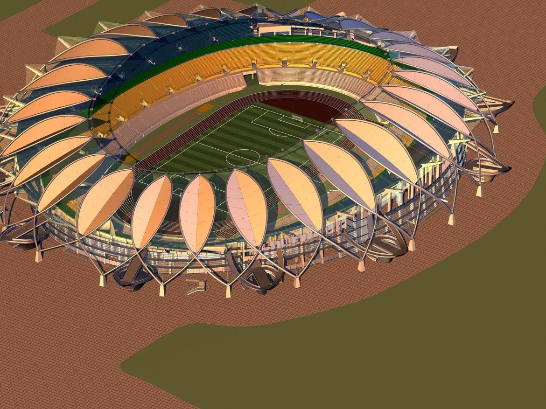 grand stadium 008 3d model 3ds max 98266