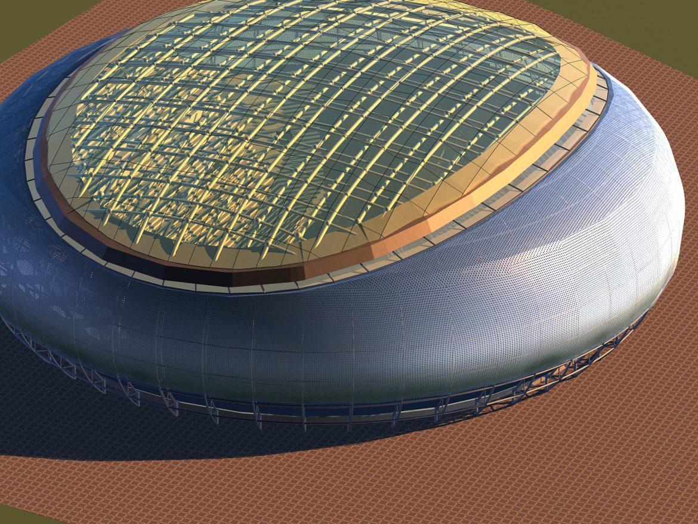 grand stadium 008 3d model 3ds max 98268