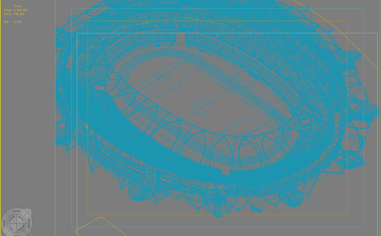 stadiumi i madh 008 3d model 3ds max 98269