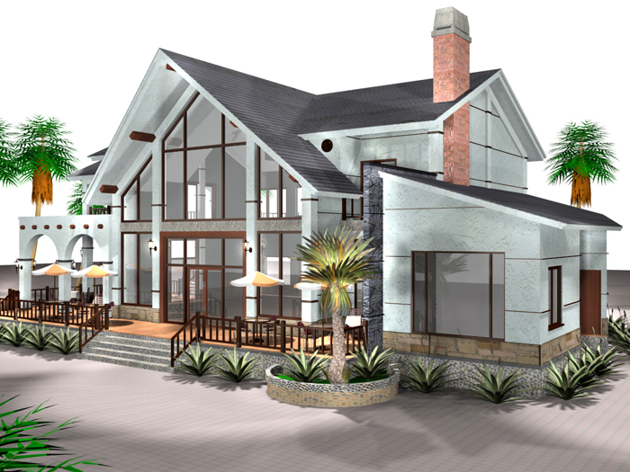 houses 3 3d model 3ds max 125287
