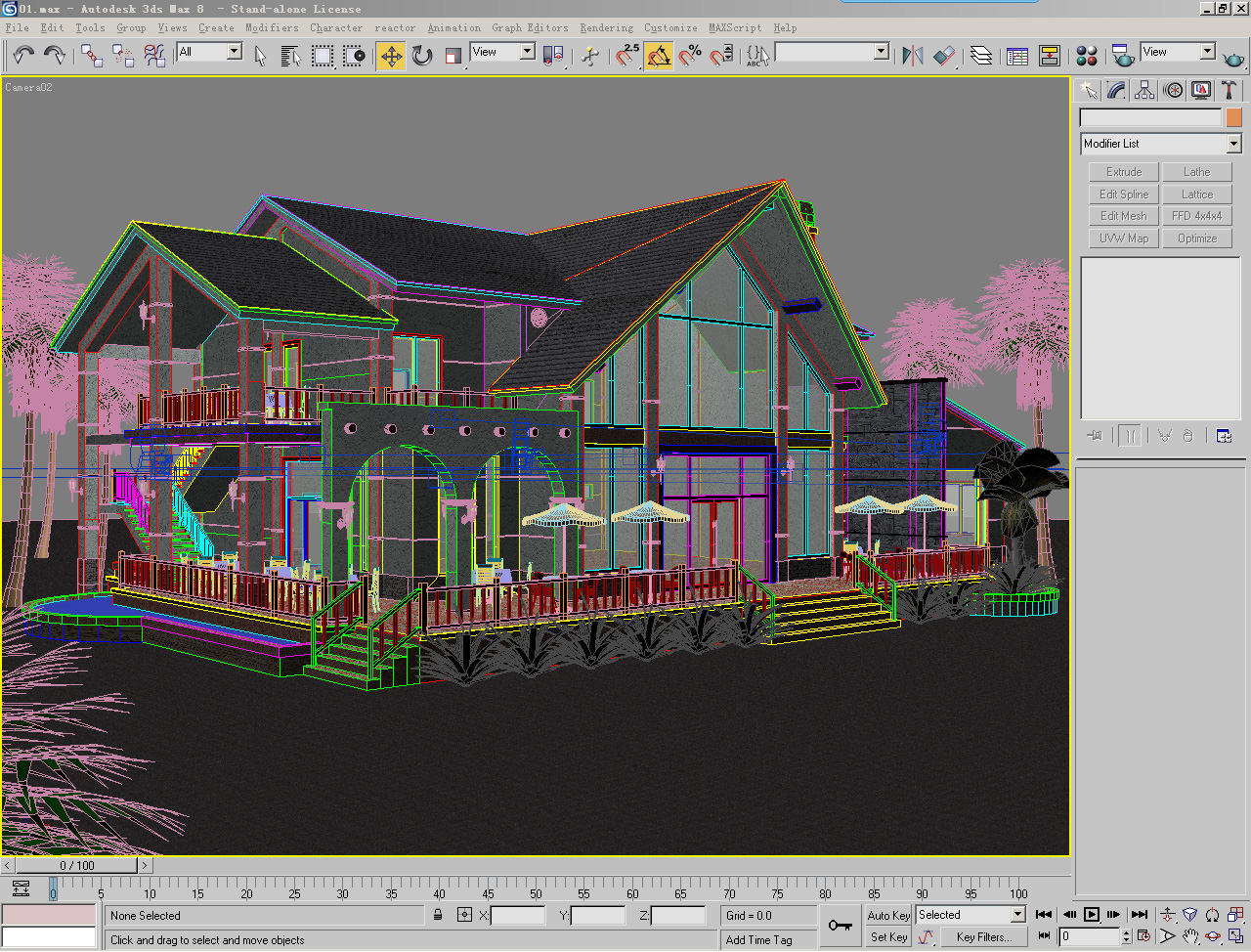 houses 3 3d model 3ds max 125288