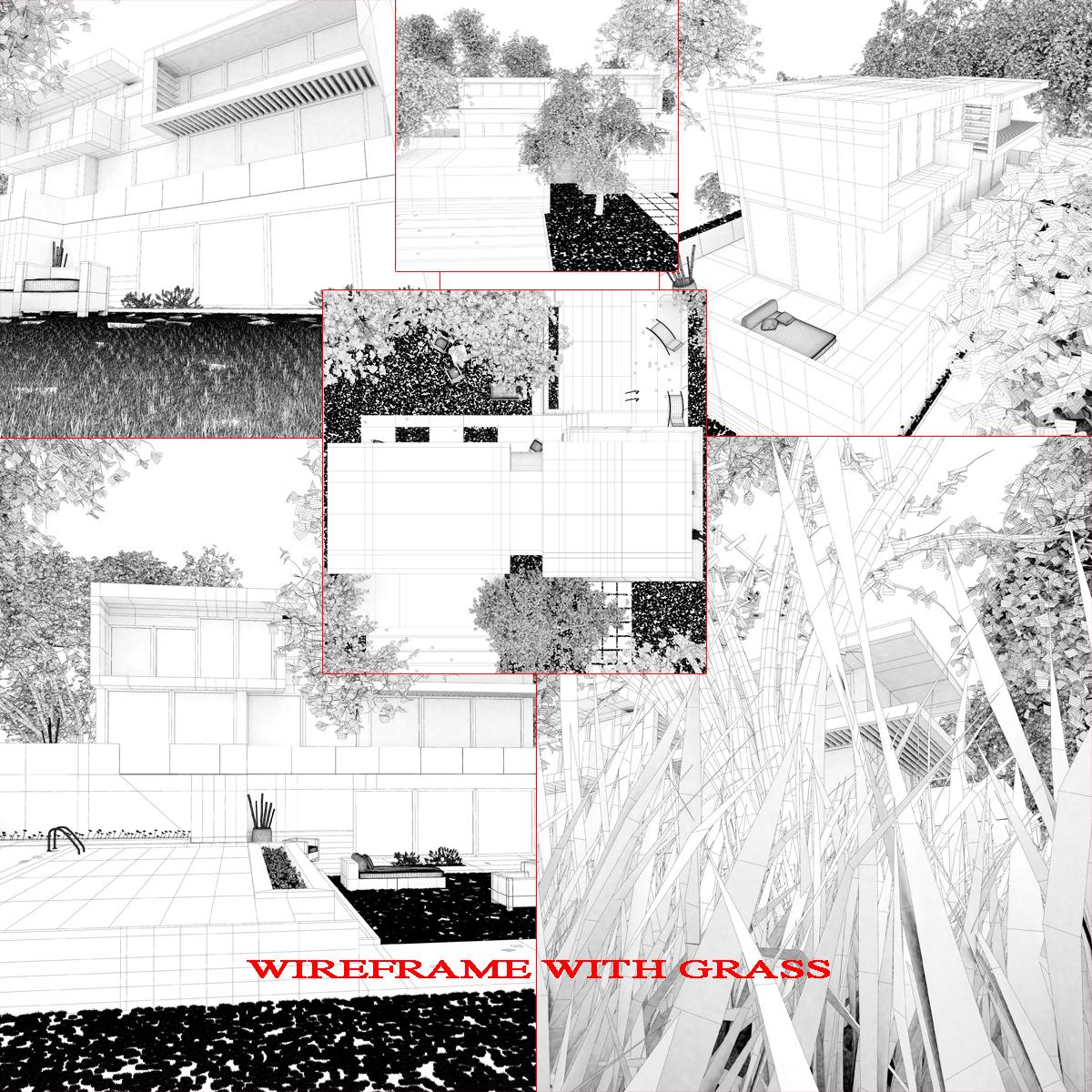 luxurious house 3d model fbx c4d ma mb other obj 164606