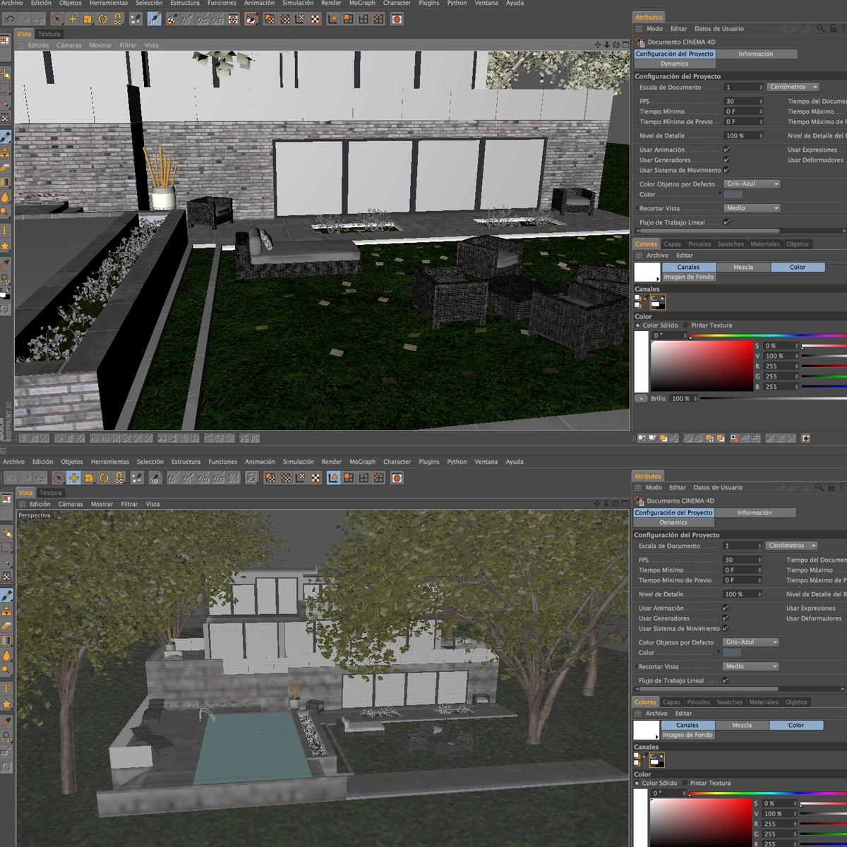 luxurious house 3d model fbx c4d ma mb other obj 164609