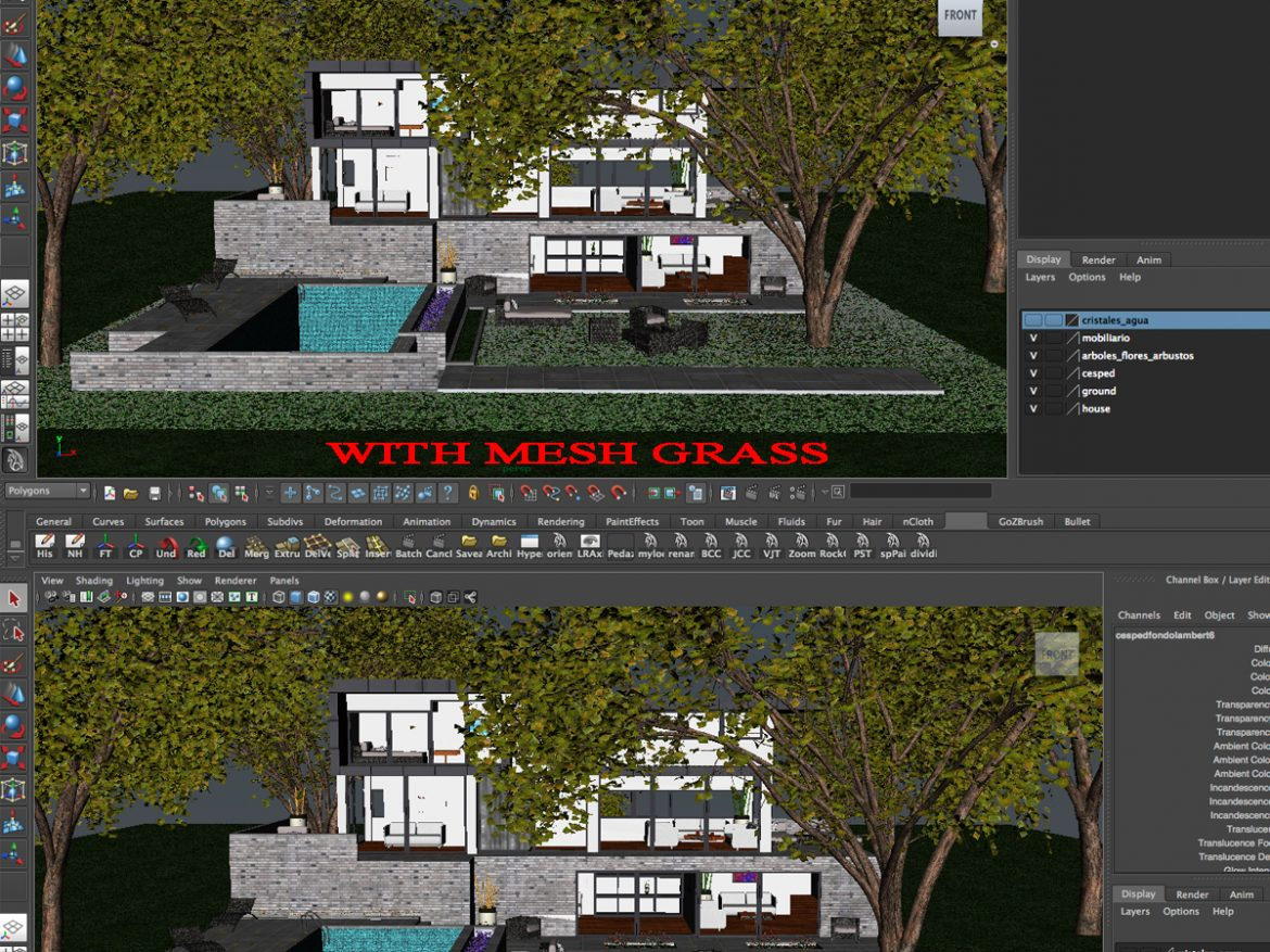 Luxurious house ( 1652.25KB jpg by mikebibby )