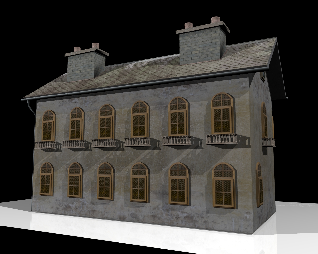 old house two 3d model 3ds 164106