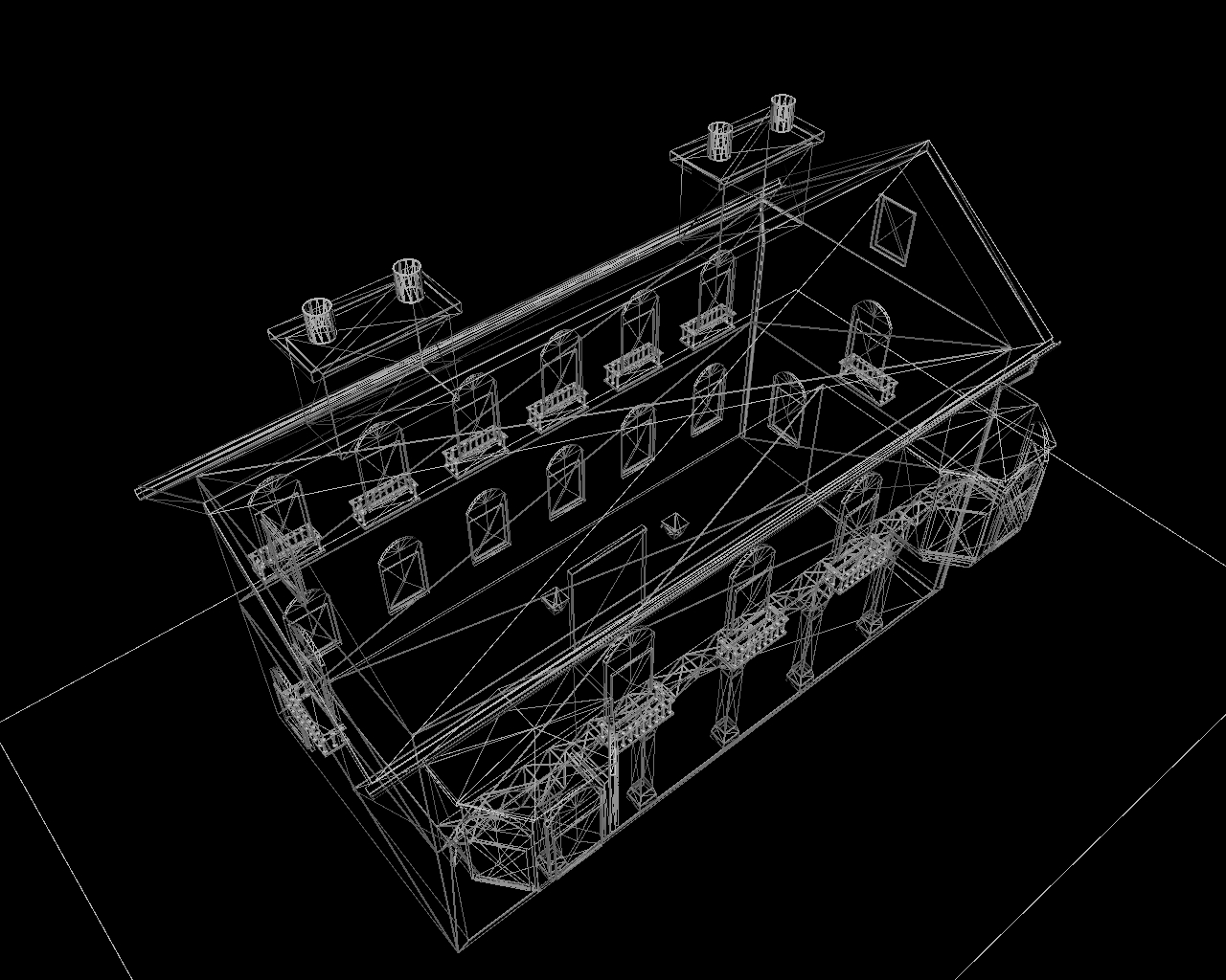 old house two 3d model 3ds 164109