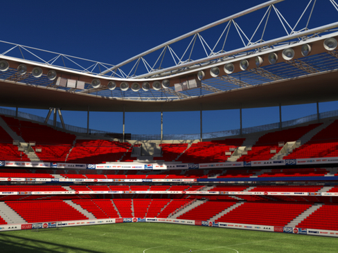 soccer stadium two 3d model 3ds max obj 127985
