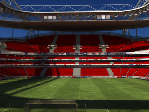 soccer stadium two 3d model 3ds max obj 127986