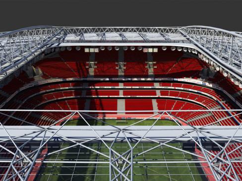 soccer stadium two 3d model 3ds max obj 127987