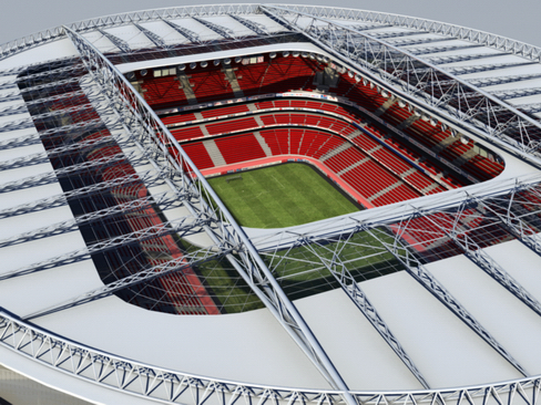 soccer stadium two 3d model 3ds max obj 127988