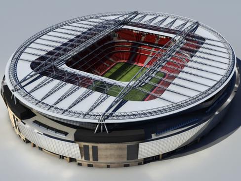 soccer stadium two 3d model 3ds max obj 127989