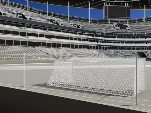soccer stadium two 3d model 3ds max obj 127995