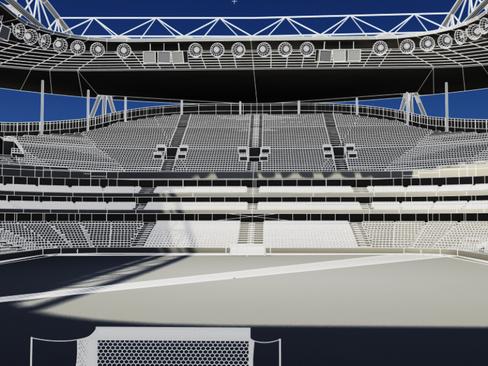soccer stadium two 3d model 3ds max obj 127997
